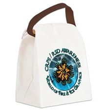 CRPS  RSD Awareness World of Fire Canvas Lunch Bag