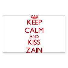 Keep Calm and Kiss Zain Decal
