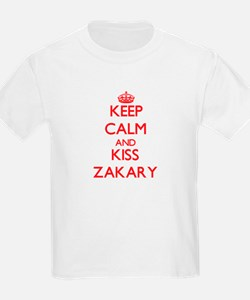 Keep Calm and Kiss Zakary T-Shirt