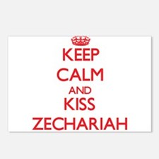 Keep Calm and Kiss Zechariah Postcards (Package of