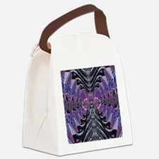 Purple Galaxy Canvas Lunch Bag