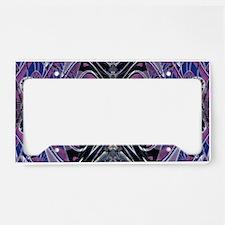 Purple Galaxy License Plate Holder