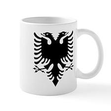 Albanian Eagle Black Mugs