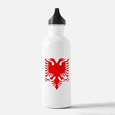 Albanian Eagle Red Water Bottle