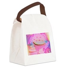 Cupcakes Covered in Sparkly Sugar Canvas Lunch Bag