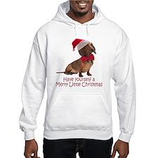 Santa Dachshund Hoodie