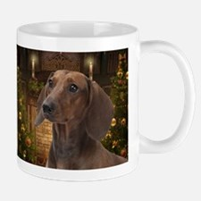Dachshund Christmas Mugs
