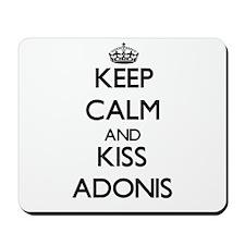 Keep Calm and Kiss Adonis Mousepad