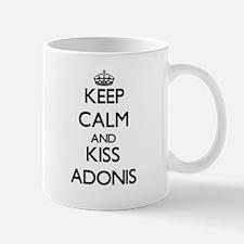 Keep Calm and Kiss Adonis Mugs
