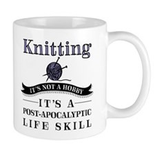 Knitting: It's Not A Hobby Mugs