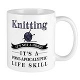 Knitting Small Mugs (11 oz)