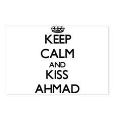 Keep Calm and Kiss Ahmad Postcards (Package of 8)