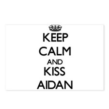 Keep Calm and Kiss Aidan Postcards (Package of 8)