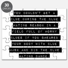 You Couldnt Get A Clue Puzzle