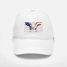 USA Patriot Butterfly Baseball Baseball Baseball Cap
