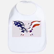 USA Patriot Butterfly Bib