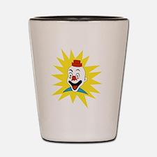 Cute No clowns Shot Glass