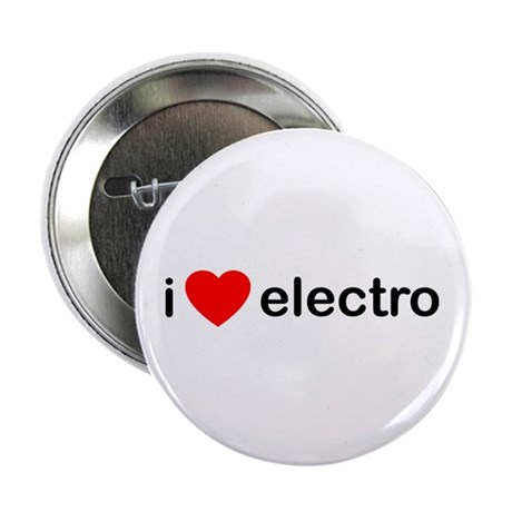 """I Heart Electro 2.25"""" Button (100 pack)"""