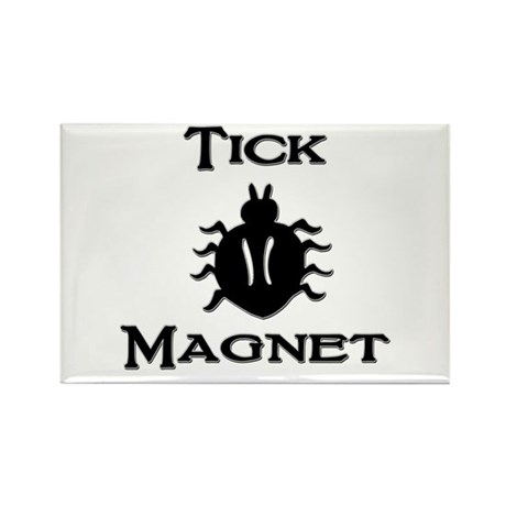Tick Magnet Rectangle Magnet