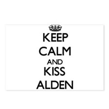 Keep Calm and Kiss Alden Postcards (Package of 8)