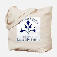 Genealogy Raise Spirits Tote Bag