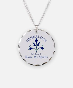 Genealogy Raise Spirits Necklace