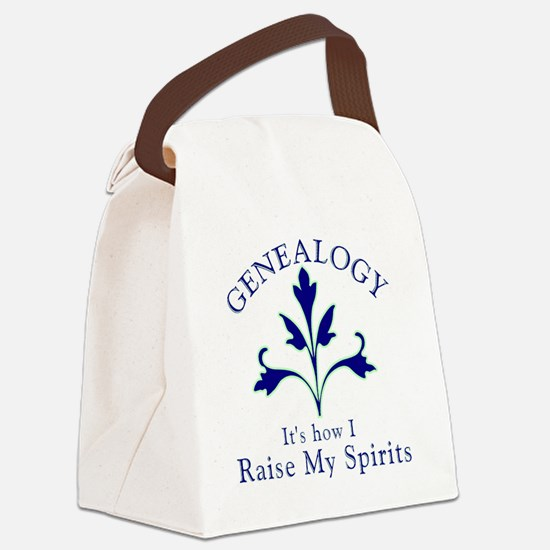 Genealogy Raise Spirits Canvas Lunch Bag