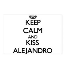 Keep Calm and Kiss Alejandro Postcards (Package of