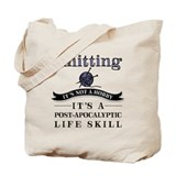 Knitting Regular Canvas Tote Bag