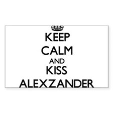 Keep Calm and Kiss Alexzander Decal