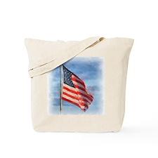 American Flag Art Tote Bag