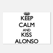 Keep Calm and Kiss Alonso Postcards (Package of 8)