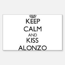 Keep Calm and Kiss Alonzo Decal