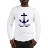 Nautical Long Sleeve T-shirts