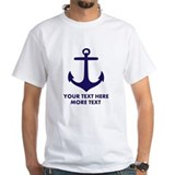 Anchor Mens White T-shirts