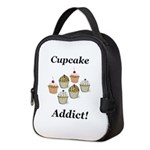 Cupcake Addict Neoprene Lunch Bag