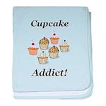 Cupcake Addict baby blanket