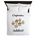 Cupcake Addict Queen Duvet