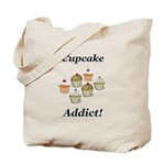 Cupcake Addict Tote Bag