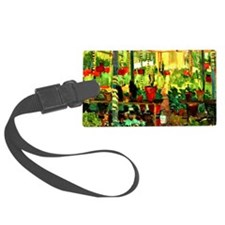The Red Pots - Edouard Vysekal Luggage Tag