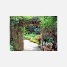 Stone Door Path 5'x7'Area Rug