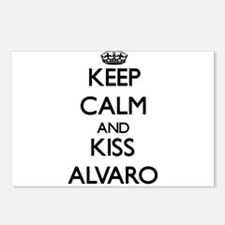 Keep Calm and Kiss Alvaro Postcards (Package of 8)