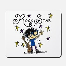 Boy Rock Star Mousepad