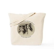 Vintage Shelties Tote Bag
