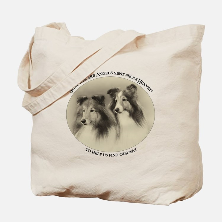 Vintage Shelties Tote Bag