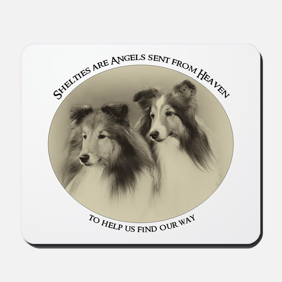 Vintage Shelties Mousepad