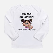 Big Sister 1 (brunette) - Customize! Long Sleeve T