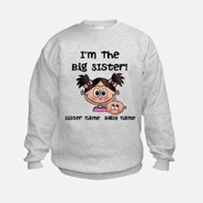 Big Sister 1 (brunette) - Customize! Sweatshirt