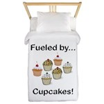 Fueled by Cupcakes Twin Duvet