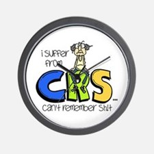 Male CRS Wall Clock